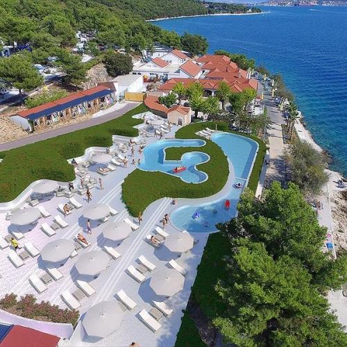 Camping Belvedere, Seget Vranjica, Dalmatia, Croatia