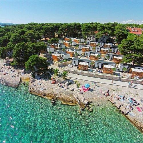 Camping Kozarica, Pakostane, Dalmatia, Croatia