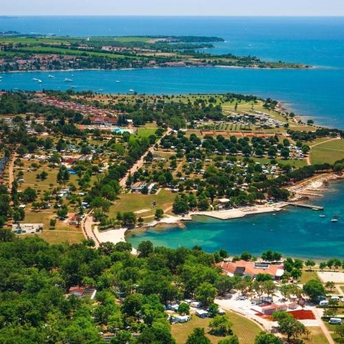 Camping Park Umag, Umag, Istria, Croatia