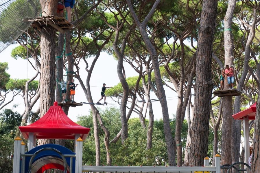 Camping Park Albatros, San Vincenzo, Toscane, Italië